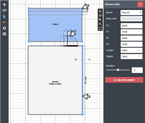 How do I create 3D or 2D plans with EyeSpyPLAN?